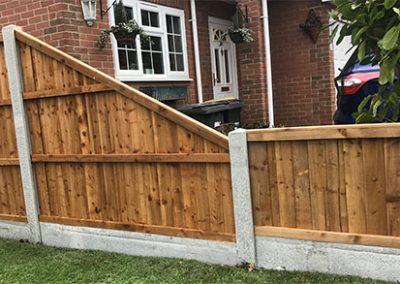 Angled Fence