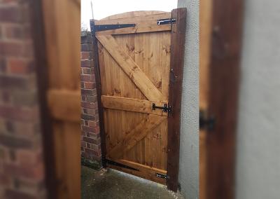 Sargent Fencing Gate 2